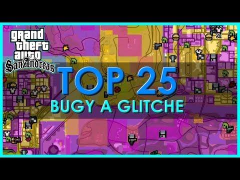 TOP 25 - Nejlepší Bugy a Glitche v GTA San Andreas