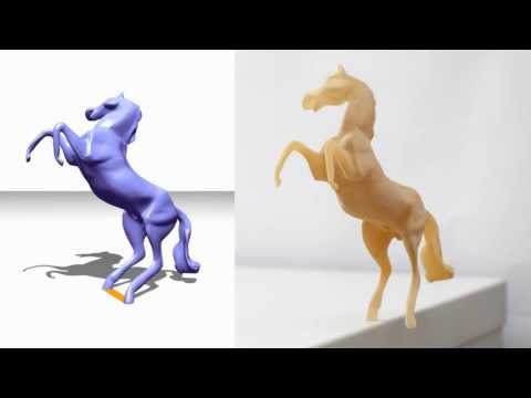 Make It Stand: Balancing Shapes for 3D Fabrication
