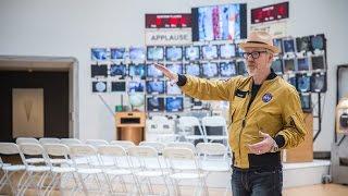 Adam Savage Tours Tom Sachs' Space Program Exhibit!