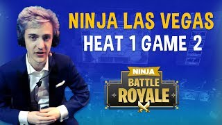 Ninja Las Vegas Heat 1 Game 2 - Fortnite Battle Royale Gameplay