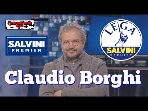 🔴 Claudio Borghi  12/02/2018