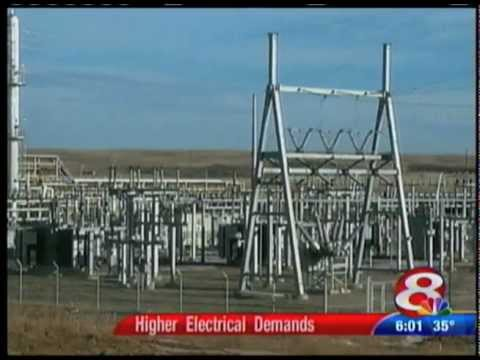 Electric Demand in McKenzie County, ND