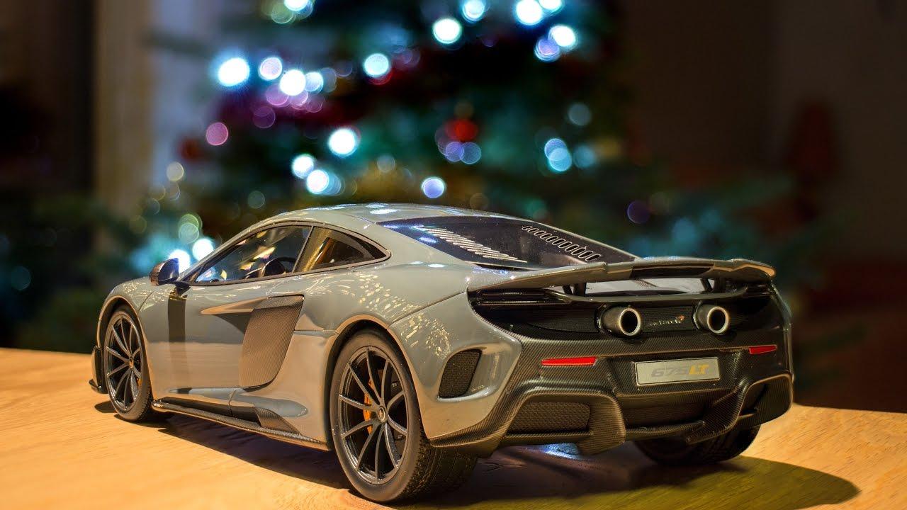 Mclaren 675lt Chicane Grey In 1 18 By Topspeed Models