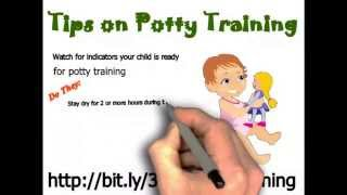 Tips on Potty Training - 3 Day Potty Training Boys & Girls Age 2