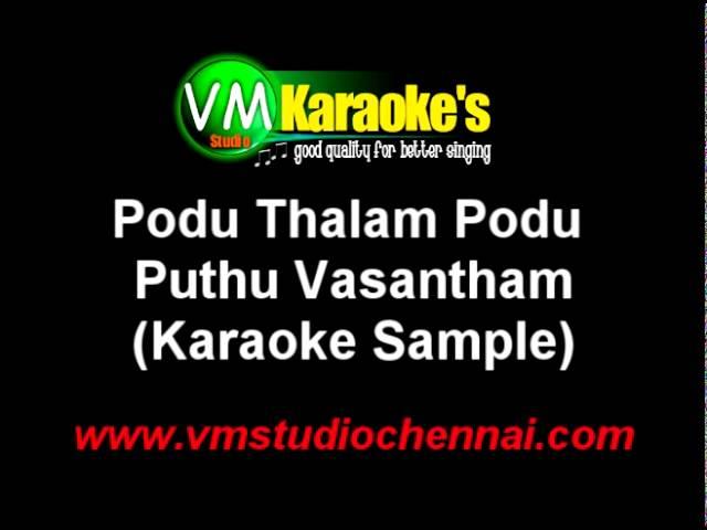 podu thalam podu song