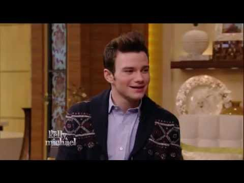 Chris Colfer on LIVE with Kelly and Michael (Jan. 2013)