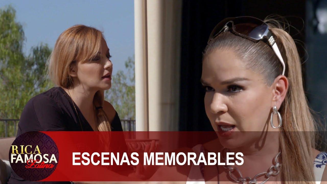 Elisa visita a Rosie en su casa para desahogarse | Rica Famosa Latina | Temporada 1