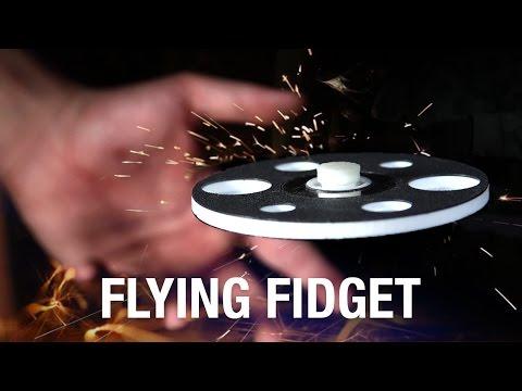 FLYING FIDGET SPINNER, yes really!