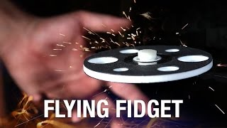 FLYING FIDGET SPINNER, yes really!