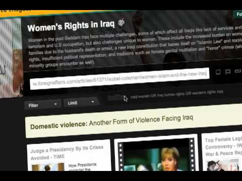 CrowdVoice.org: Tracking Voices of Protest