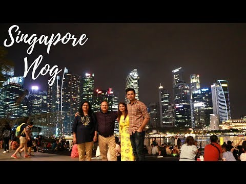 Travel Vlog : Singapore | Day 5 | Singapore Zoo & Marina Bay | Kavya K