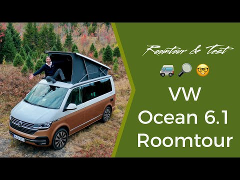 VW California 6.1 Ocean - room tour and test