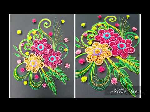 Paper quilling  how to make beautiful quilling art tutorial (paper art) thumbnail