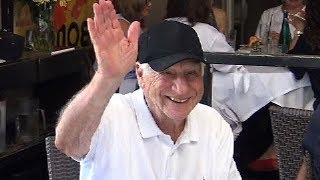EXCLUSIVE - Comedy Icon Mel Brooks Entertaining Friends At Lunch