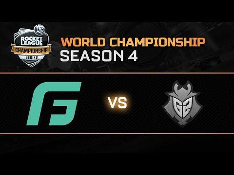 GALE FORCE ESPORTS vs G2 ESPORTS Upper Quarter-Final - World Championship - RLCS S4