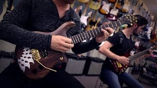 POMEGRANATE TIGER - ** Not To See The Sun ** Double Guitar Playthrough