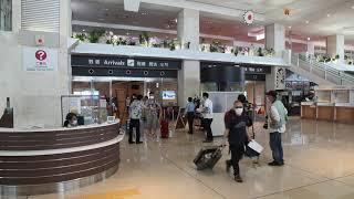 2020年6月 初の東京直行便飛来 宣言解除後124人が熱センサーチェック