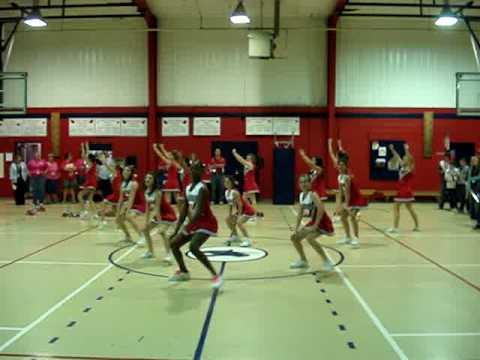 J.B.Martin Cheerleaders