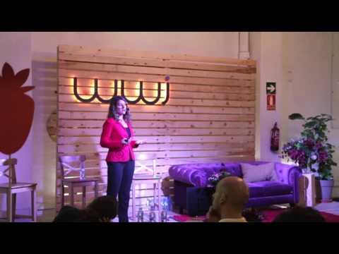 Diana Bacanu, Global Wellbeing Leader at Schneider Electric in her talk at WWi Summit 2015