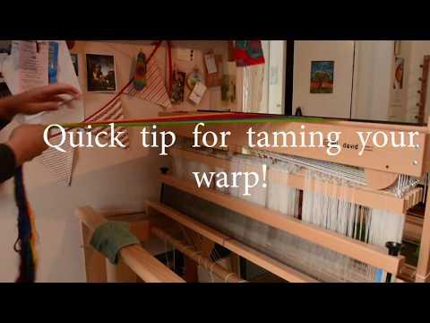 Quick warp taming tip!