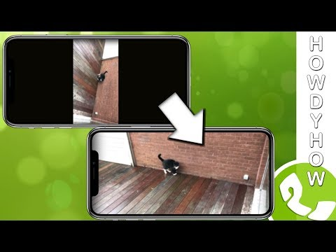 ROTATE VIDEO on iPhone - How-to Video