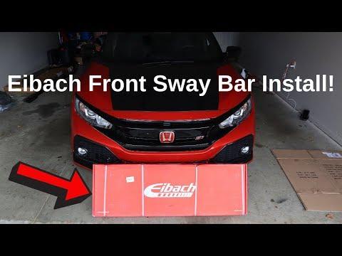 Eibach Front Sway Bar Install **10th Gen Civic Si**