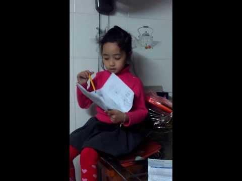 Chi Heo làm cô giáo