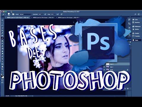 COMO EMPEZAR EN FOTOSHOP / TUTORIAL BASICO PARA EDITAR EN PHOTOSHOP