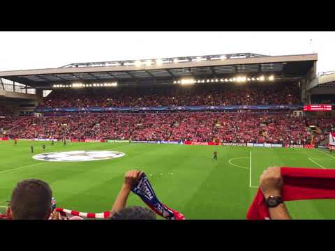 The Champions League Returns to Anfield! | 4K