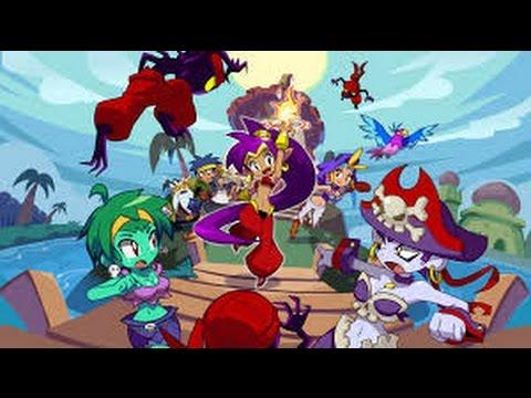 Shantae Half-Genie Hero Ep1-El poder del baile y el cabello :v