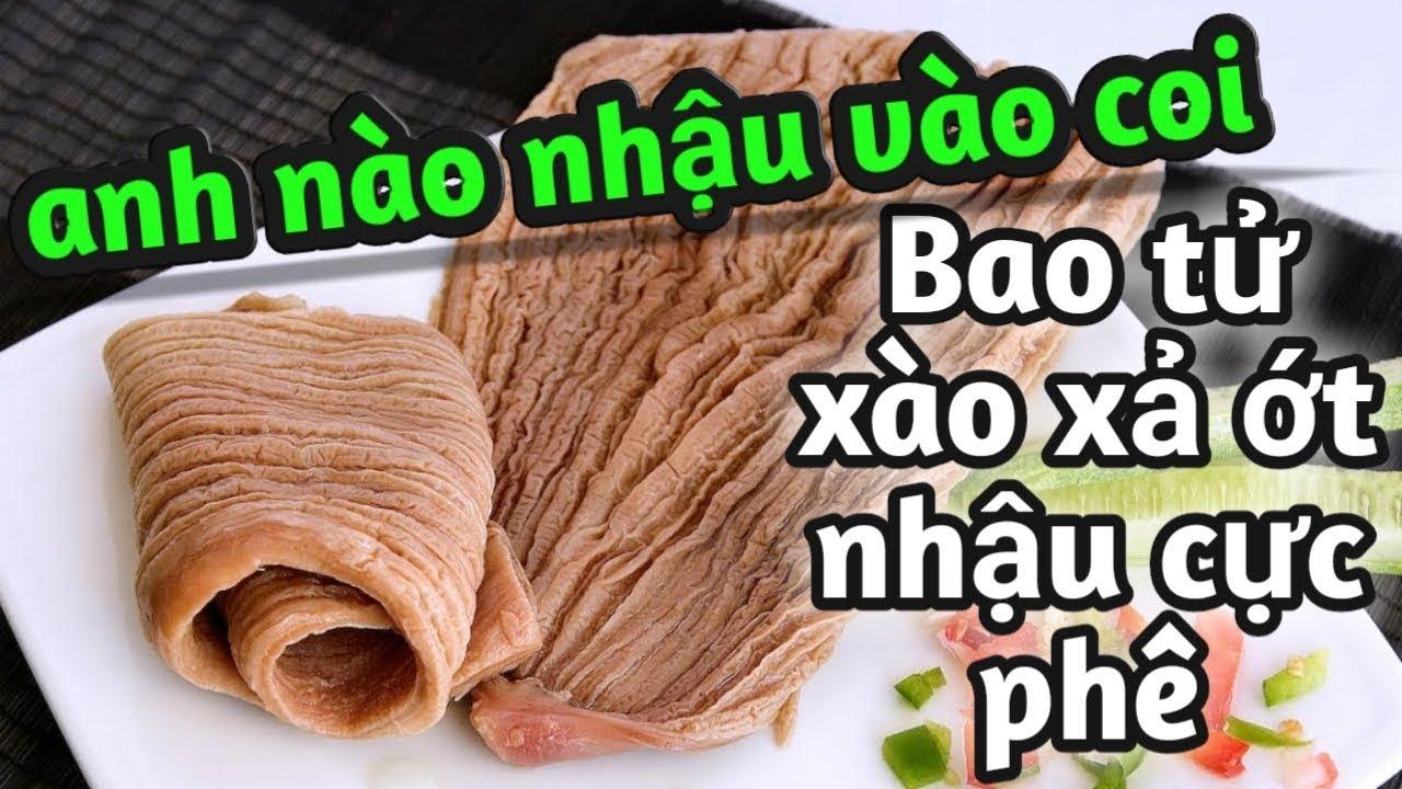 cách nấu bao tử cá ngừ xào xả ớt cực ngon – món ăn ngon by Hương