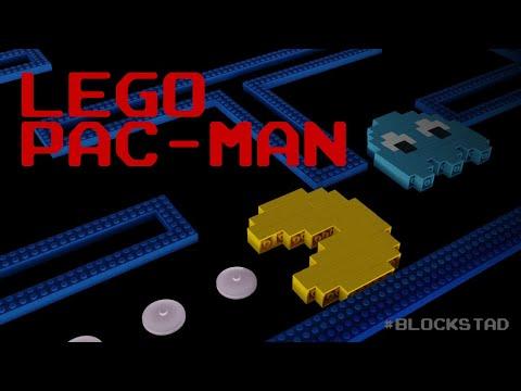 👾 LEGO Pac-Man Arcade Game - Blockstad Showcase