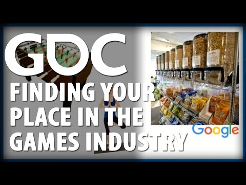 Finding Your Place in the Games Industry