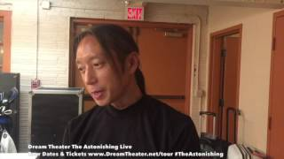 John Myung Backstage After Show Invites Fans Out To See The Astonishing Live