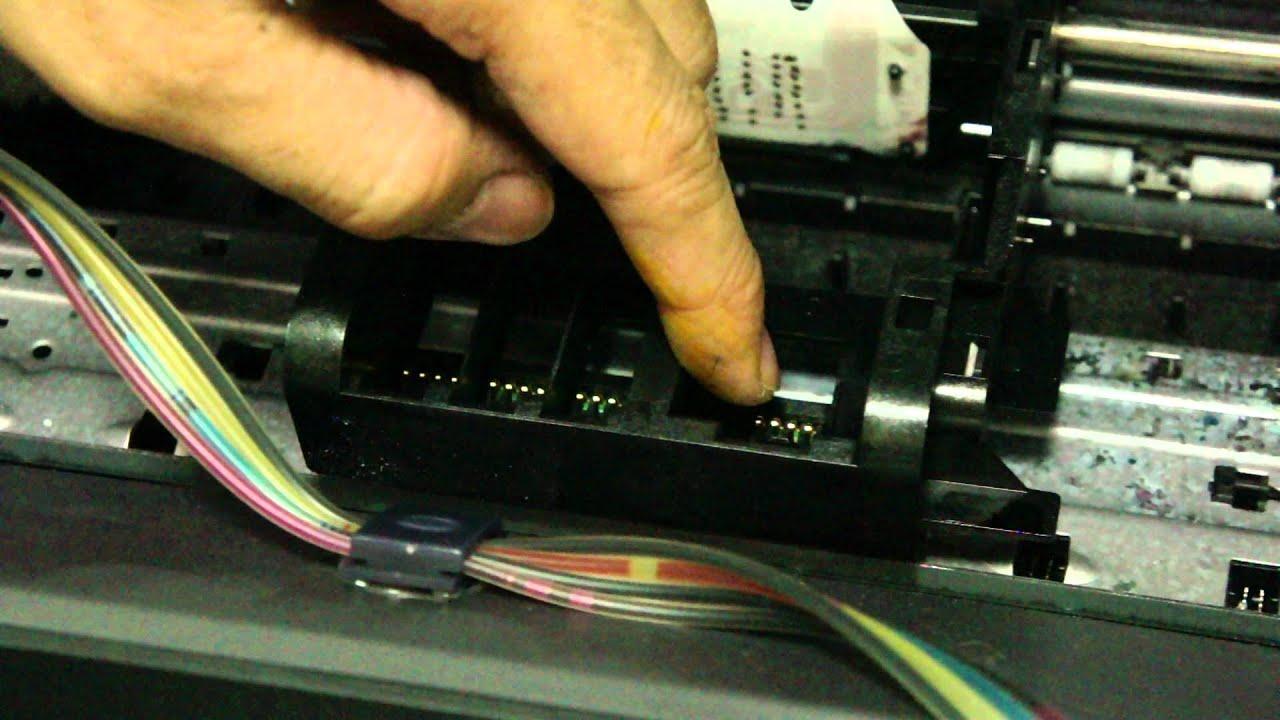 【印橙科技】當hp印表機顯示墨水系統失效 Doovi