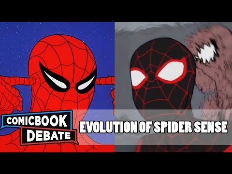 Evolution of SpiderSense in Cartoons in 5 Minutes 2018