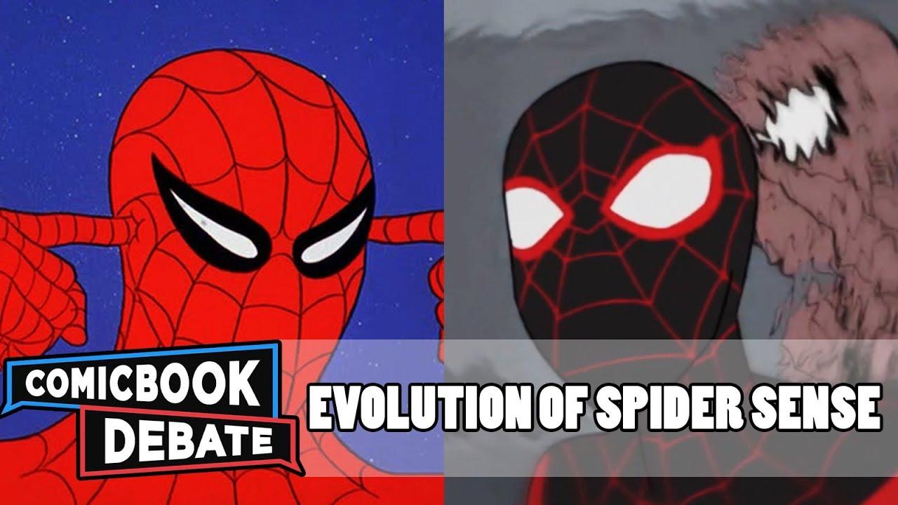 Download Evolution of Spider-Sense in Cartoons in 5 Minutes (2018)