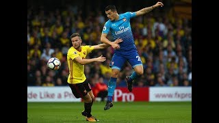 PICKING FAULT Granit Xhaka caught picking nose as Tom Cleverley scores late Watford winner