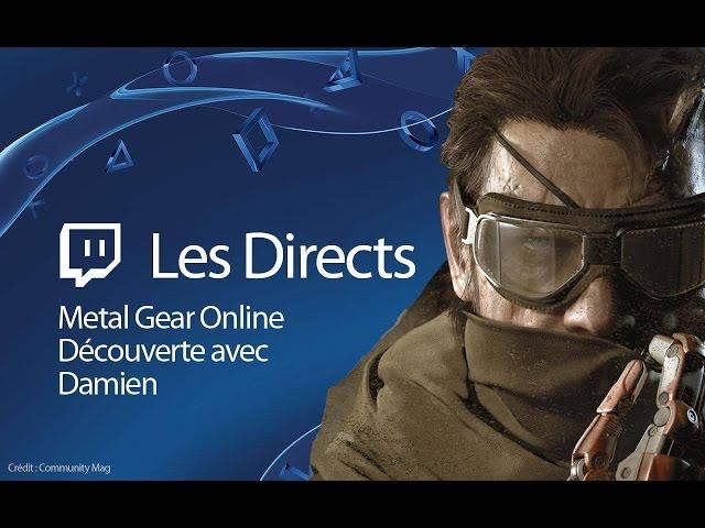 Metal Gear Online - Découverte