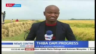 CS Kiunjuri to assess construction of Thiba Dam in Mwea
