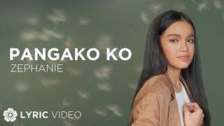 Pangako Ko - Zephanie (Lyrics)
