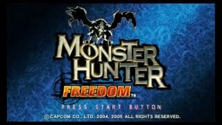 Monster Hunter Freedom PSP walkthrough part 1: The beginning