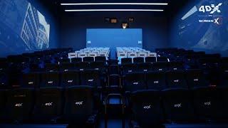 Перший у світі кінотеатр з 4DX в ScreenX'