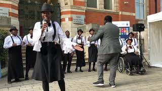 DMU Gospel Choir at 24 hours with the Global Goals