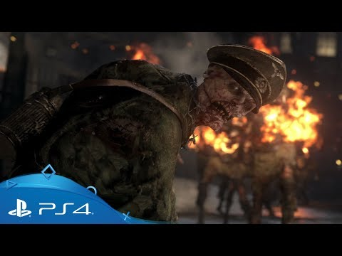 Call of Duty: WWII | Nazi Zombies Reveal Trailer | PS4