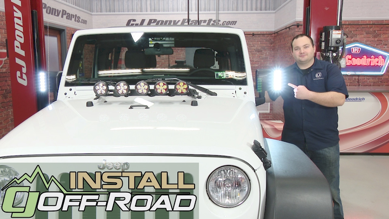 Jeep Wrangler Jk Oracle Lighting Side Mirror Off Road Led Pair 2007 Wiring Instructions For Kc Lights 2018 Installation