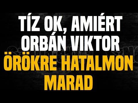 10 ok, amiért Orbán Viktor örökre hatalmon marad - Sznobjektív [#13]