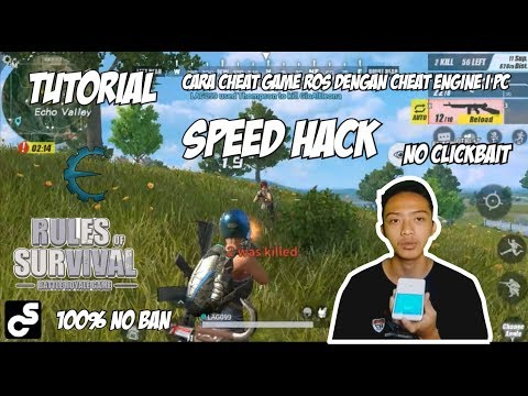 Cara Cheat Game ROS SPEED HACK Dengan Cheat Engine | PC