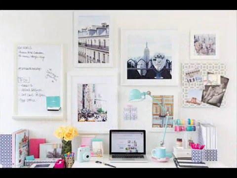Ideas para decorar tu escritorio youtube for Decoracion de escritorios