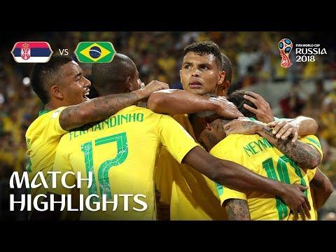 Serbia v Brazil - 2018 FIFA World Cup Russia™ - Match 41